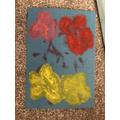 Kylan's super art work