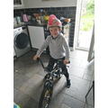 Charlie R and his bike