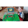 Blake's super tiger painting