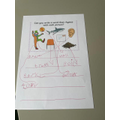 Ivy's lovely rhyming words!