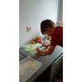 Blake baking yummy things