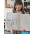 Ruby's super maths work