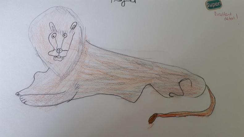 Liv's lovely lion!