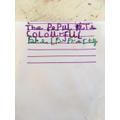 Elisa's lovely writing