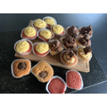 Wow! Look at these yummy cakes that Esme has made!