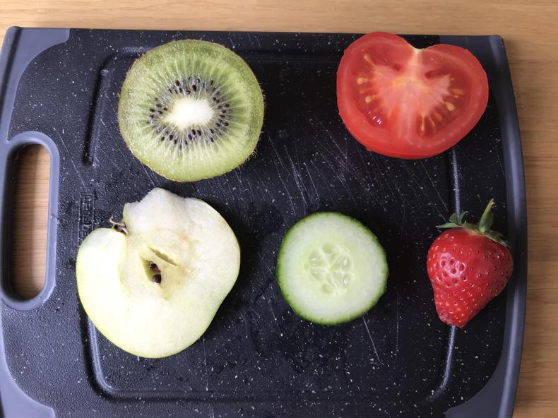 This is the fruit I looked at carefully.