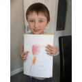 Joshua's super giant picture with adjectives