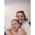 Wenny and Mummy