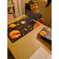 A super space jigsaw!