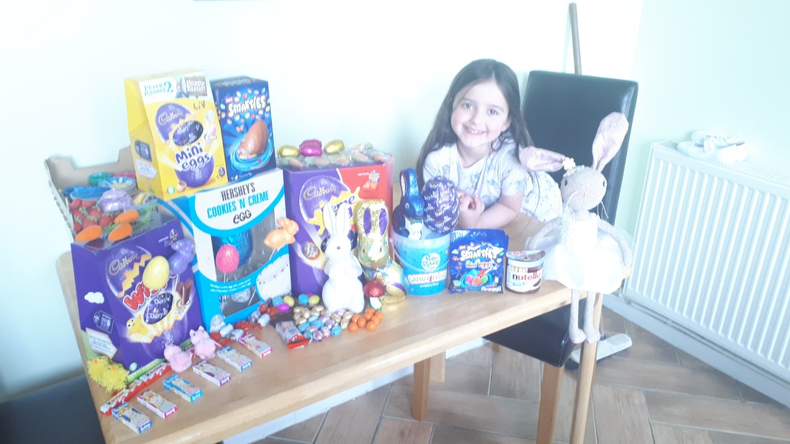 What a lot of Easter treats!