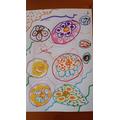 Arielle's flower doodle.