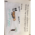 Charlie T's amazing artist inspired tiger