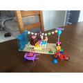 Ava's lego model.