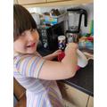 Ruby baking something delicious