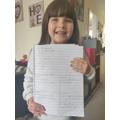 Ruby's lovely seasons writing