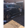 A brilliant job by Charlie T washing the car