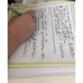 Kylan's super writing
