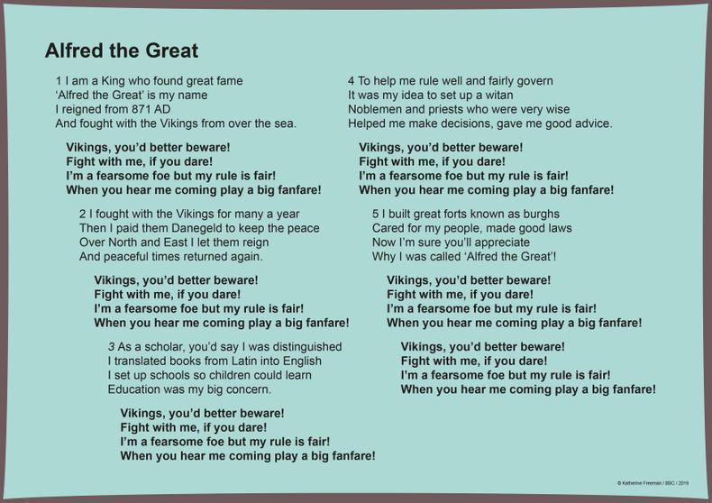 Alfred the Great lyrics