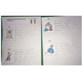 Nicholas's beautiful writing about Cinderella