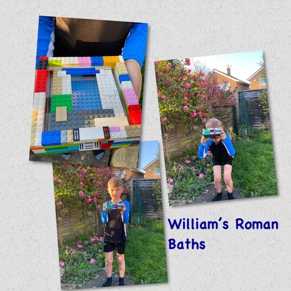 William's great Roman Baths!