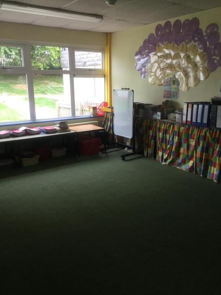 This is the Quiet Room where we do all our our carpet sessions
