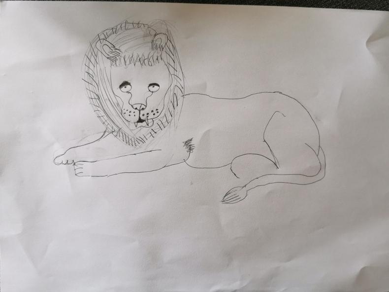 Skye's lion.