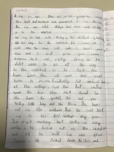 More of Hattie's story.