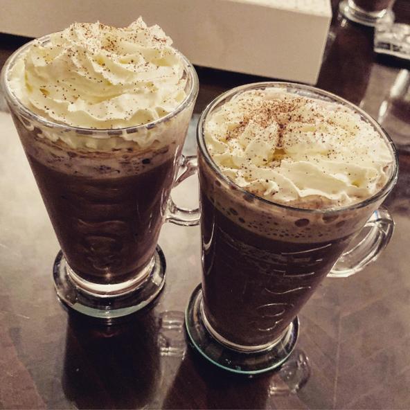 My lovely, chocolatey hot chocolate