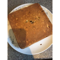 A very yummy carrot cake by Charlie T