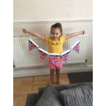 Erin's lovely VE day bunting that she made