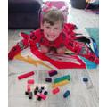 Blake and his fraction blocks