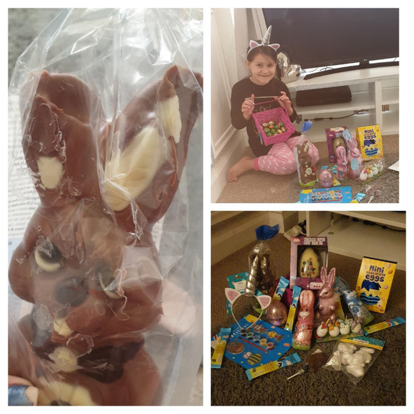 Wow! What a lot of Easter treats.