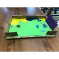 Ava'a cardboard box work.