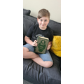 Thomas and his mum have a copy of the Islam holy book we are learning about