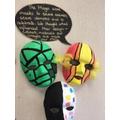 Our Mayan masks
