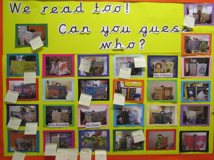 We love reading at Tidcombe and are passionate about all children seeing themselves as rea