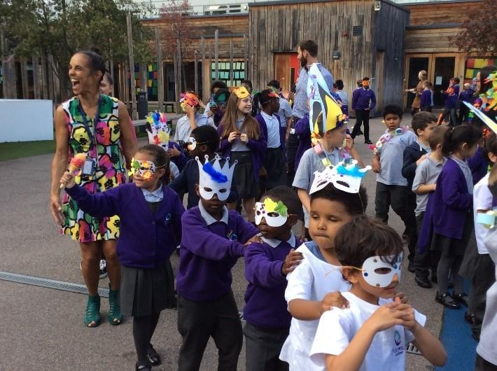 Carnival Celebration During Black History Month