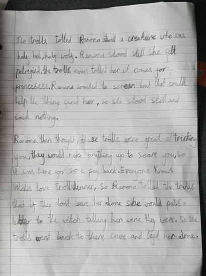 Naomi's super writing!