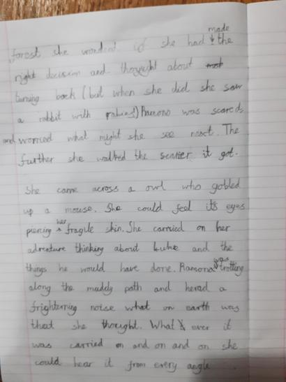 Billy's super writing!