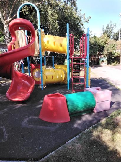 Our BIG slide!