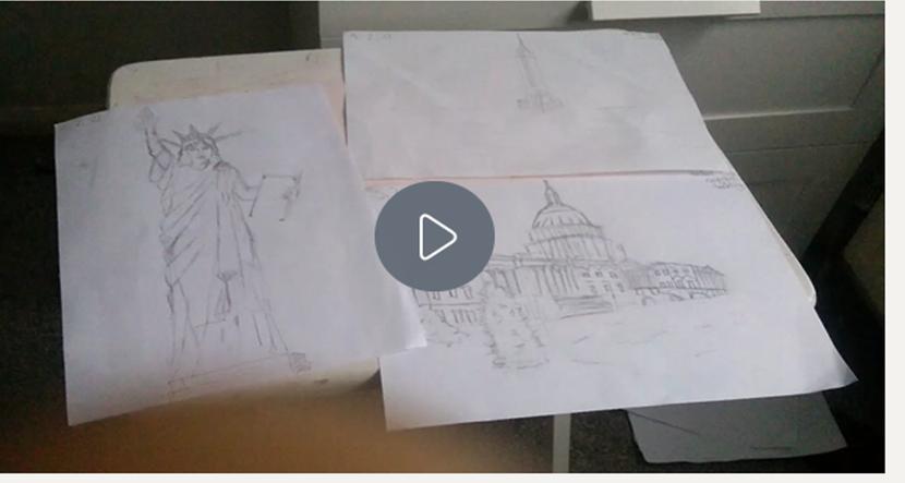 6HS/KS - 2nd Farhan's Statue of Liberty/White House