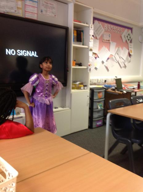 Book charades, well done Noor-Fatima x