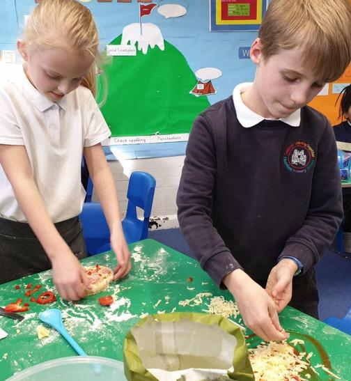 Some serious concentration from year 4.