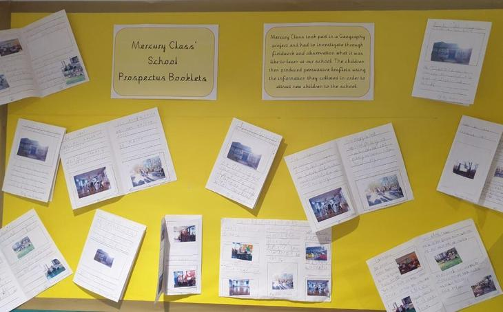Year 1 School prospectus project
