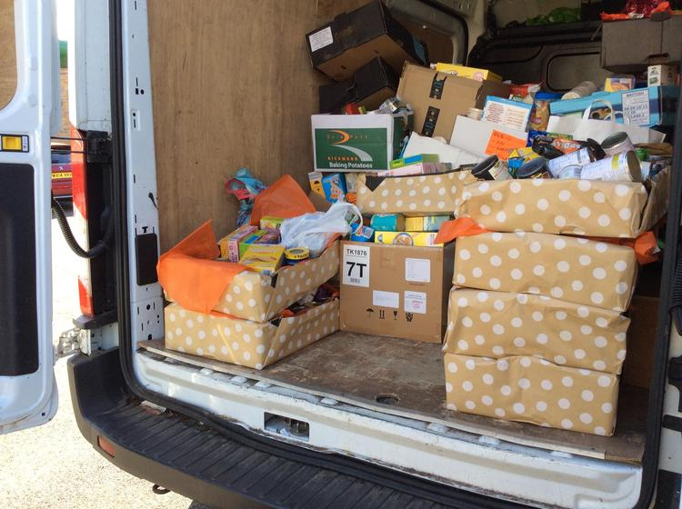 Lots of generous donations!