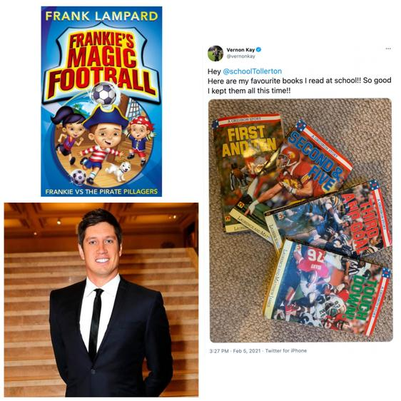 Vernon Kay is a famous television presenter