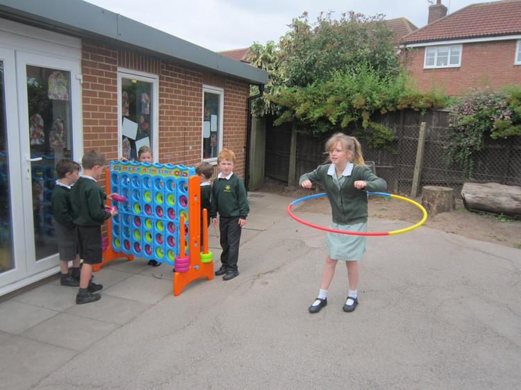 Some of our playtime equipment
