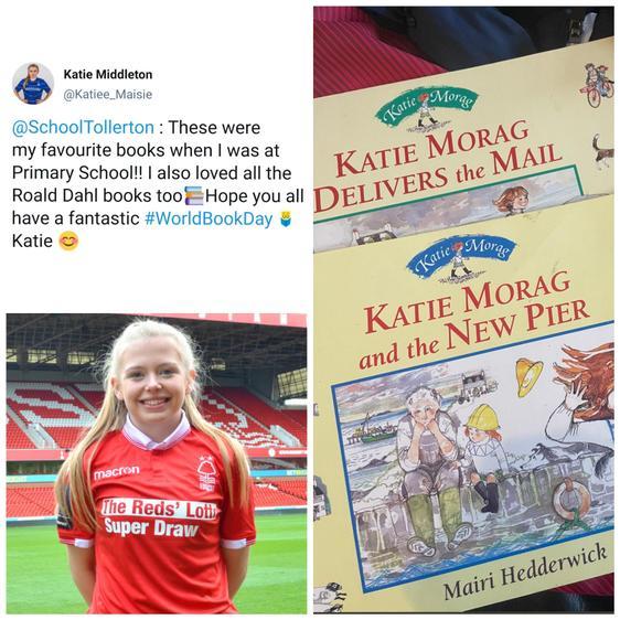 Katie Middleton is a footballer for Nottingham Forest Women's FC