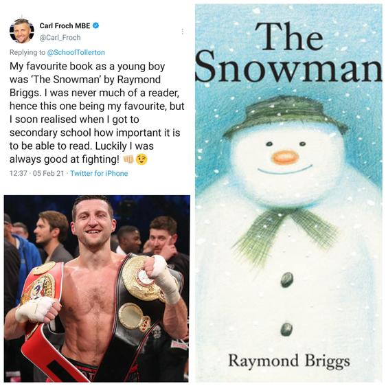 Carl Froch is a famous professional boxer from Nottingham