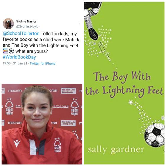 Sydnie Naylor is a footballer for Nottingham Forest Women's FC